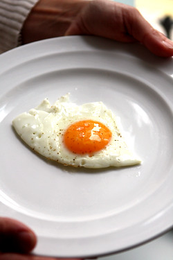 fried egg at the Tannery