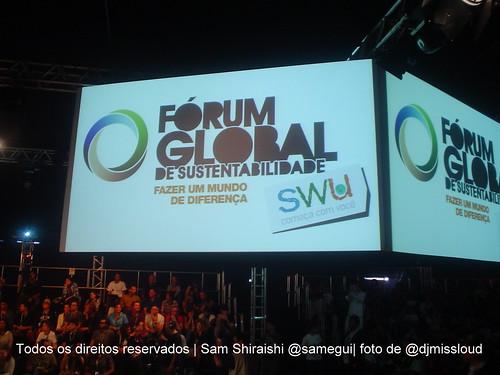 #forumSWU por @djmisscloud: Negócios sustentáveis