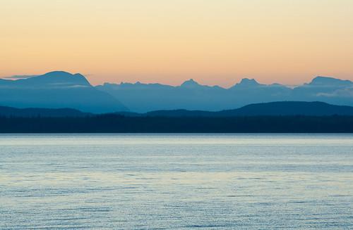 Sunrise on Quadra Island