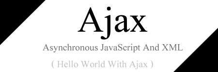 hello world with Ajax