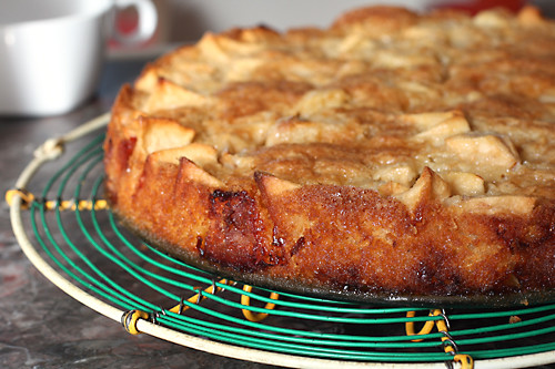 dorie's apple cake