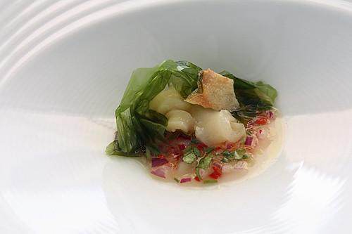 cod & sea lettuce