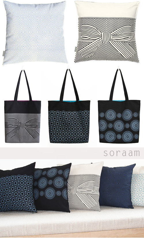 Soraam Pillows & Totes