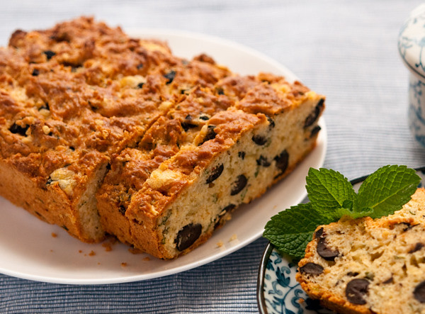 Olive cheese loaf