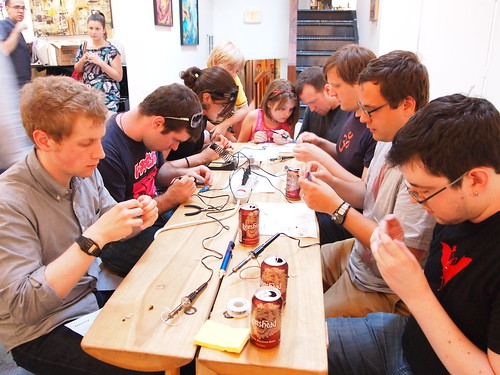Handmade Music: Phototheremin workshop