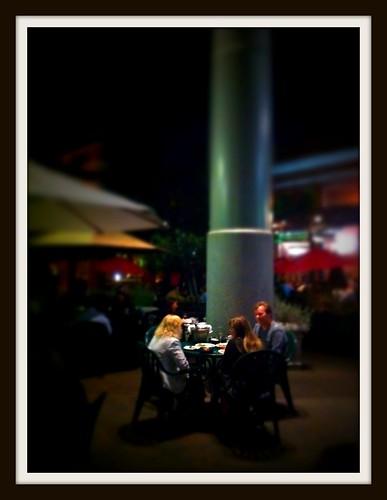 Friday night at Cafe Borrone by Scott Loftesness