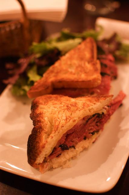 gluten-free Reuben sandwiches