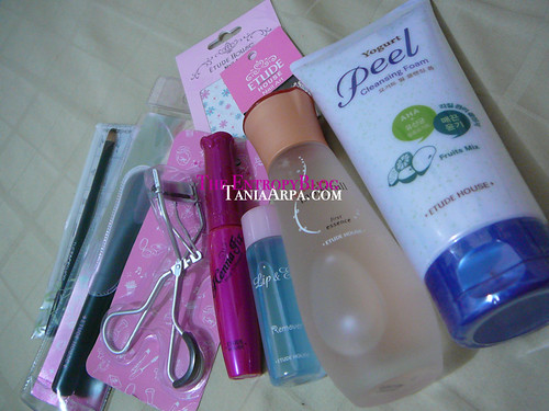 Etude House/Face Shop haul 2010.11.17