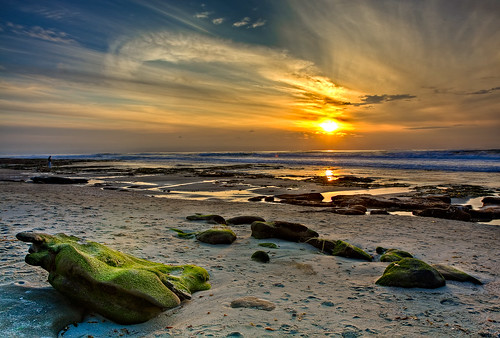 La Jolla Cove Sunset by 2 Rivers Photos