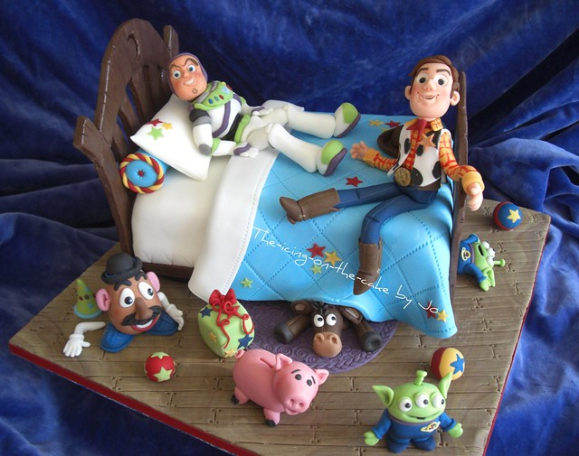 Toy Story cake competition entry (Moorgreen Country Show 2010)