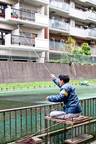 Fishing in Tokyo