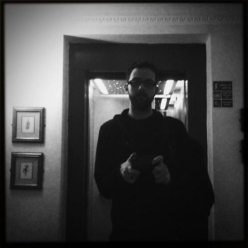 Self Portrait with Elevator