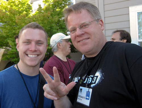 Bob Lee & Robert Scoble