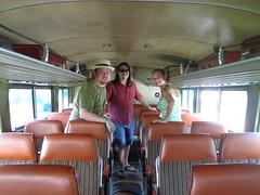 Inside a Flxble Bus