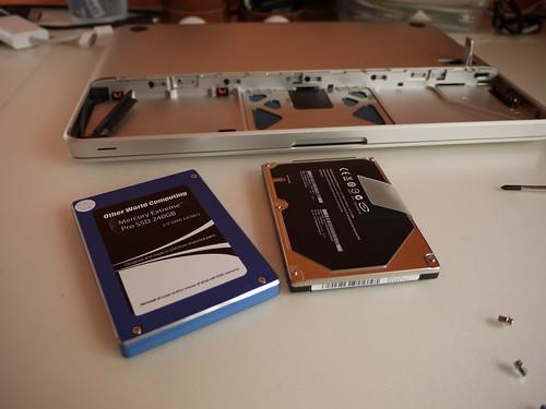 MacBook SSD upgrade
