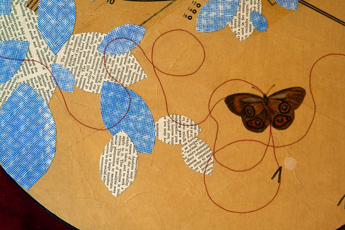 butterfly and sewing paper-2