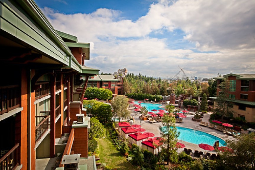 View from the Grand Californian