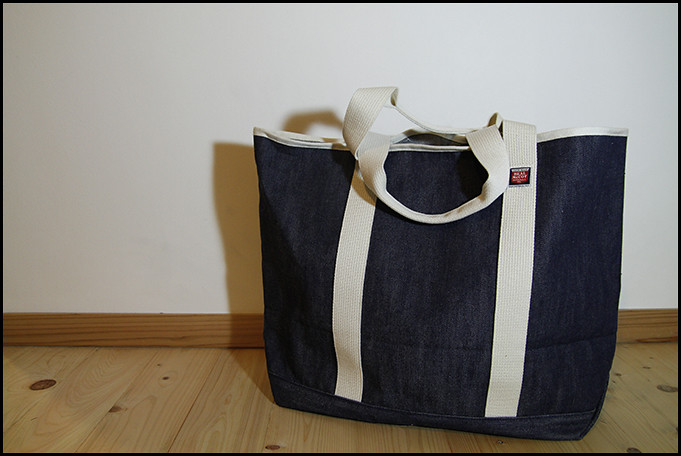 The Real McCoy's Denim Tote Bag