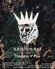 ARISTOKRAT Tonight, starts at 11! 🔥