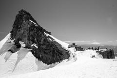 The big rock. Camp Muir