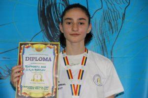 Ana Botezatu (CSM Brașov) campioană națională la sabie copii