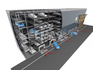 Proiect: Parcare automatizată privată cu 200 de locuri în Centrul Istoric al Braşovului