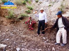 Creación de la vía de acceso a las zonas agrícolas del fundo Sucuypampa, Alloca.