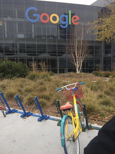 At Google campus