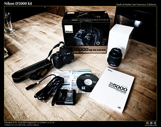 Nikon D5000 kit