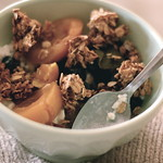 Rosewater Pistachio Granola
