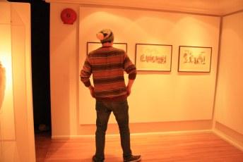 @ the Monster exhibition, West Van Museum