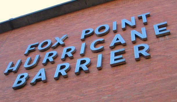Fox Point Hurricane Barrier