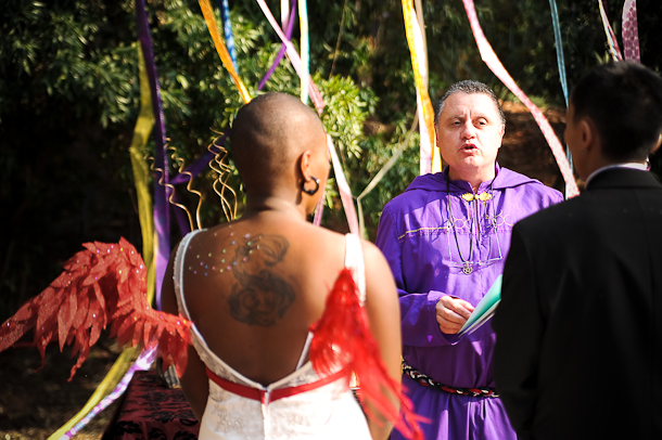 ceremony with the high priest