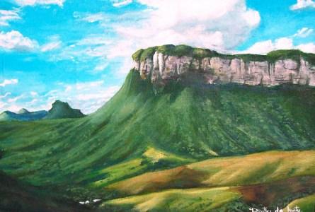 Morro branco do Pati