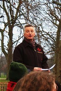 Billy Bragg, Speakers' Corner, London, 7 February 2010