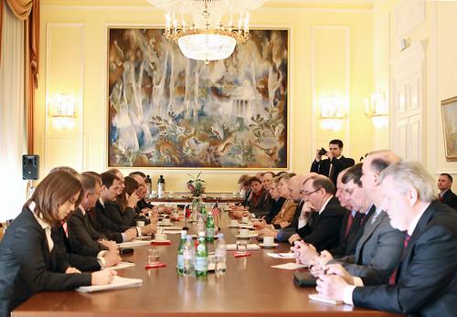 New START Negotiations, Russian Mission in Geneva