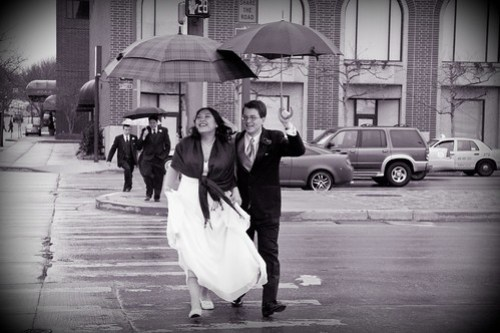 A quick stroll in the rain #2