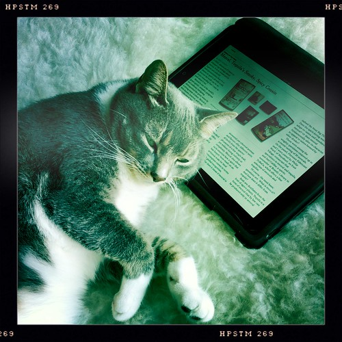 Pip and his iPad