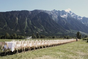The table is set | North Arm Farm | Pemberton
