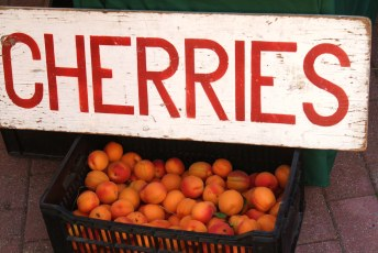Whistler Farmer's Market (those aren't cherries, btw)