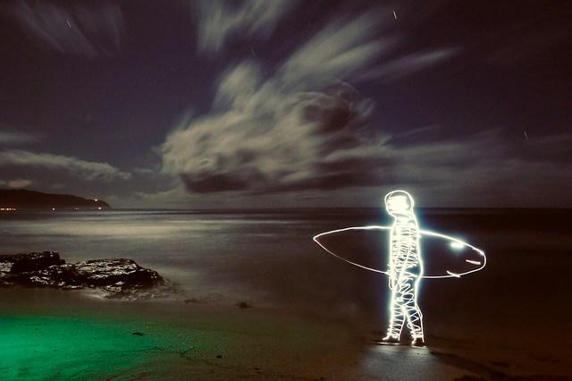 Night Surfing