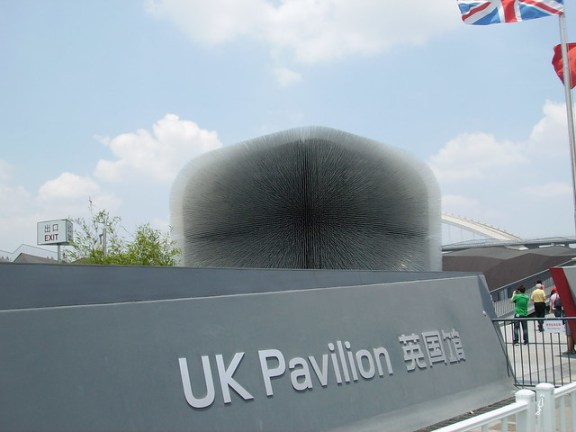 UK Pavilion during Shanghai World Expo