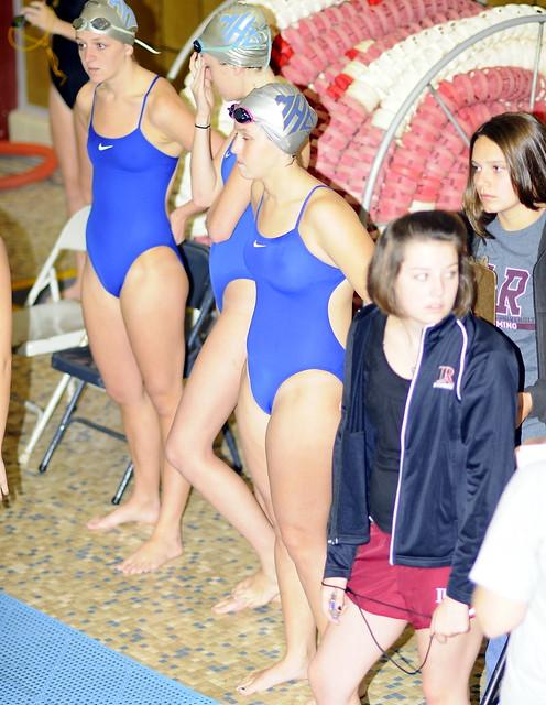 girls swim team photos wet