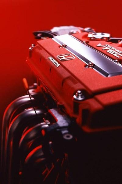 iPhone 4 wallpaper - Honda VTEC Type-R B18C | Flickr - Photo Sharing!