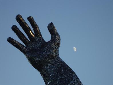La luna en la noche más corta del año