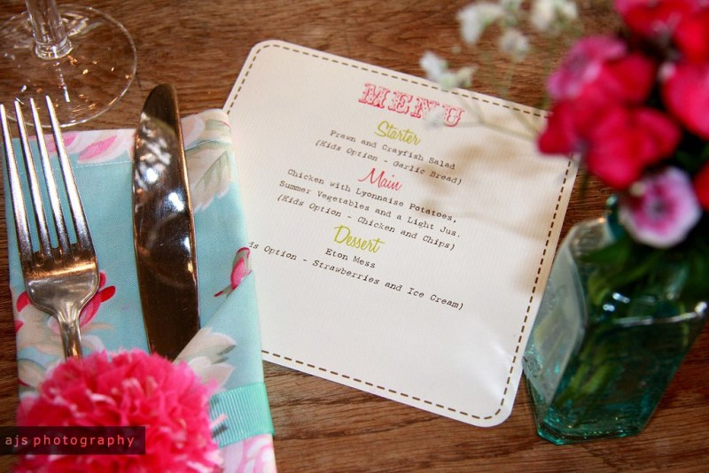 big day | menu