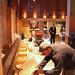 Working on a banquette | Q4 al Centro