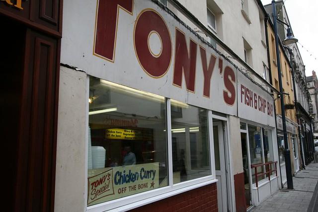 Chip Alley Cardiff Tony's