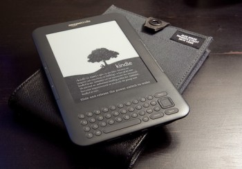 Amazon Kindle 3 with the Jack Spade Sleeve