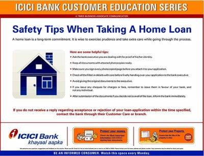 Safety Tips When Taking a Home Loan form ICICI Bank | Flickr - Photo Sharing!
